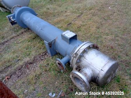 Used- Atlas Single Pass Shell & Tube Heat Exchanger,