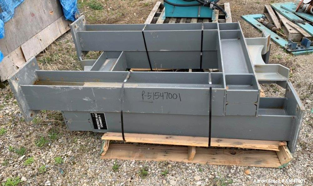 Unused- Bell & Gossett Multiple Pass Copper/Nickel Tube Heat Exchanger
