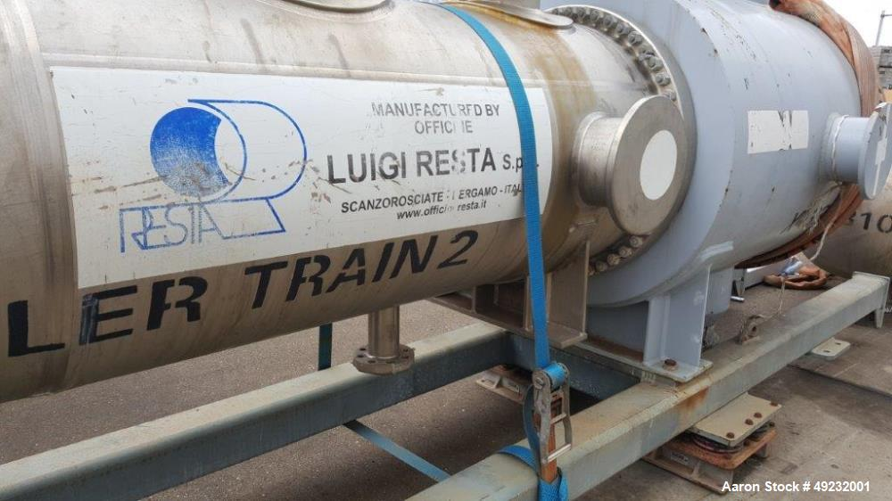 Unused: Officine Luigi Resta Heat Exhanger (Cooler).