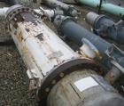 Used- Atlas Shell and Tube Heat Exchanger, approximately 411 square feet, vertical. Type BEM22-72. Carbon steel shell rated ...