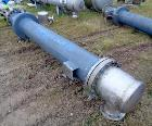 Used- Atlas Shell & Tube Heat Exchanger, Approximate 255 Square Feet