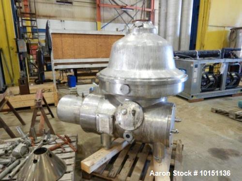 Used-Yula Approximately 100 Square Foot Horizontal Hastelloy Heat Exchanger.  150 psi/full vacuum @ 350 deg F both shell and...