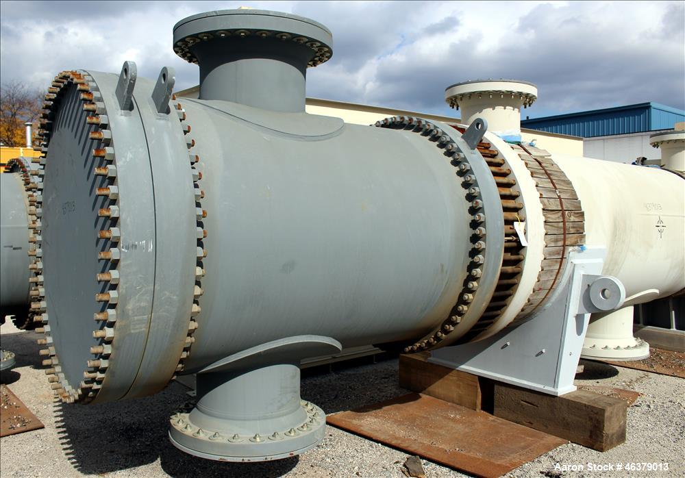Unused- Daekyung Shell and Tube Heat Exchanger, 4,625 square feet, Horizontal, C