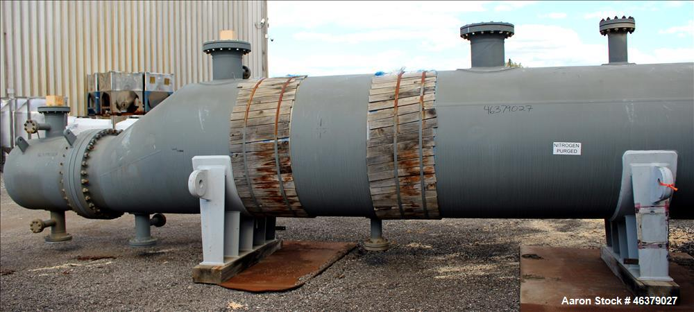Unused- Daekyung Shell and Tube Heat Exchanger, 3,100.14 Square Feet, Carbon Ste