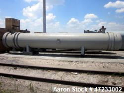 "Unused- Hughes-Anderson 2 Pass Shell & Tube Heat Exchanger, 7,110 Square Feet, Type AET, Size 52"" x 28', Horizontal. Carbon ..."