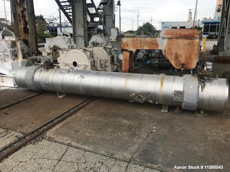 Used- 464 ft2 (42m2) Shell and Tube Heat Exchanger
