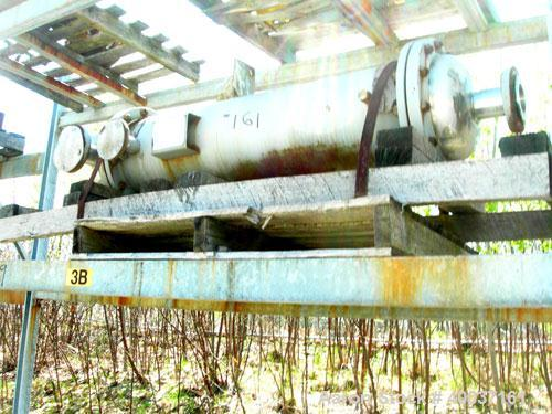 Used-Used: Doyle and roth heat exchanger. Shell rated 100 psi at 100 deg.f., 4' long tubes rated fv/75 psi at 200 deg.f.. Se...