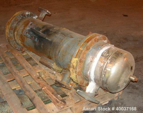 Used-Used: Doyle and roth heat exchanger. Shell rated 100 psi at 200 deg.f., tubes rated fv/75 psi at 100 deg.f.. Serial# J-...