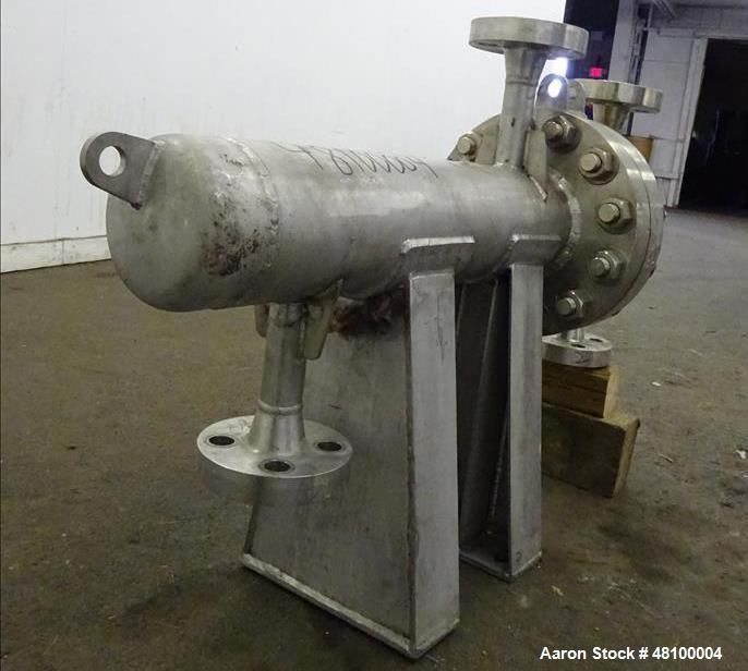 Used- ADM Stainless Inc. Heat Exchanger, Model CV.
