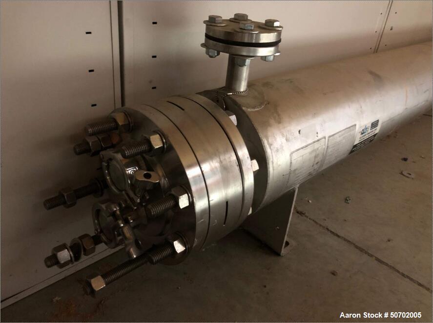 Allegheny Bradford Sanitary 2 Pass Shell & Tube Heat Exchanger