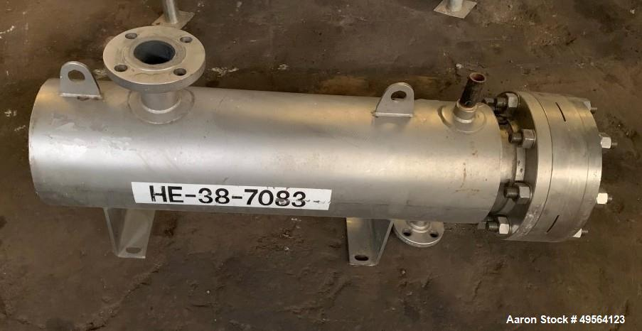 Used- Allehgeny Bradford Shell and Tube Heat Exchanger