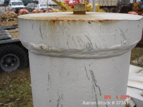 Unused- Ametek Inc, Schuette Koerting Inc heat exchanger, 660 square feet, U-tube. Carbon steel shell, heads. 304 stainless ...