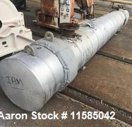 Used- Approximately 280 Square Foot Shell and Tube Heat Exchanger