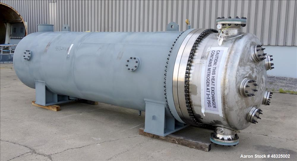 Unused- Joseph Oats Shell & Tube U-Tube Heat Exchanger.