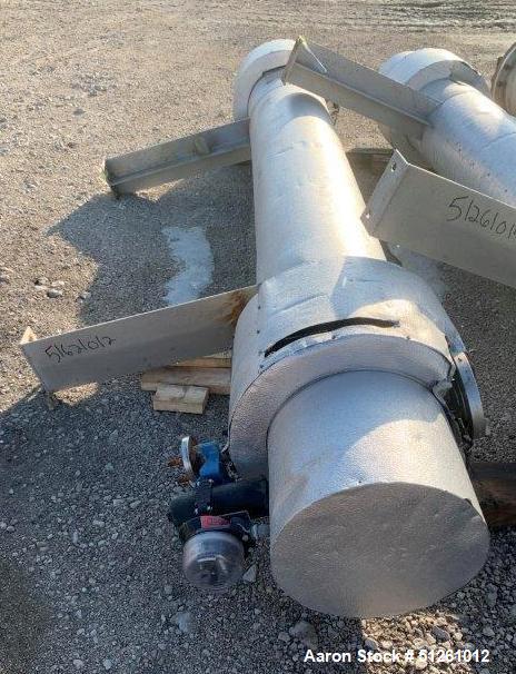 Kennedy Tank & Mfg Stainless Steel Shell & Tube Heat Exchanger