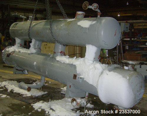Used- Ketema Multiple Pass Shell & Tube Heat Exchanger, Type FLC-4-404-SS BEM