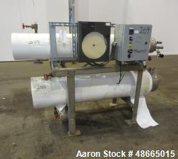 Used- Allegheny Bradford Dual Mounted Heat Exchanger System, Stainless Steel.