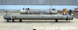 Used- Cust-O-Fab Shell & Tube Heat Exchanger.