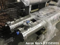 Used- Approximately 288 Square Foot Surface Area Shell and Tube Heat Exchanger