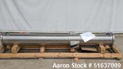 and Rebuilt - Enerquip Shell & Tube Heat Exchanger, Stainless Steel, Vertical. Approximate 132 squar...