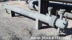 Unused- Fabsco U Tube Shell & Tube Heat Exchanger, 95.4 Square Feet, Type BEU, Size 10-144, Horizontal. Carbon steel sheel r...