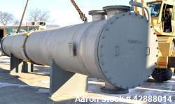 Unused- Horizontal Melter S.A. de C.V. 2 Pass Shell & Tube Heat Exchanger