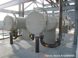 Unused- Horizontal Melter S.A. de C.V. 2 Pass Shell & Tube Heat Exchanger, 3746 Square Feet, Type NEN