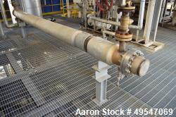 Used- Mueller 2 Pass Shell & Tube Heat Exchanger, Approximate 70 Square Feet, Tema Type BEM, Size 6-180, Class C. 304 Stainl...
