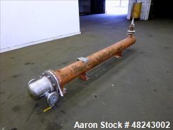 Used- Rubicon Industries U Tube Shell & Tube Heat Exchanger, 62 Square Feet, Mod