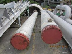Used- Southern Heat Exchanger Multiple Pass Shell & Tube Heat Exchanger, 1113 Square Feet