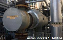 Used- SteelTek Inc. U-Tube Shell and Tube Heat Exchanger
