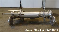 Used- Stainless Steel Superior Fabricators Single Pass Heat Exchanger, 42 Square