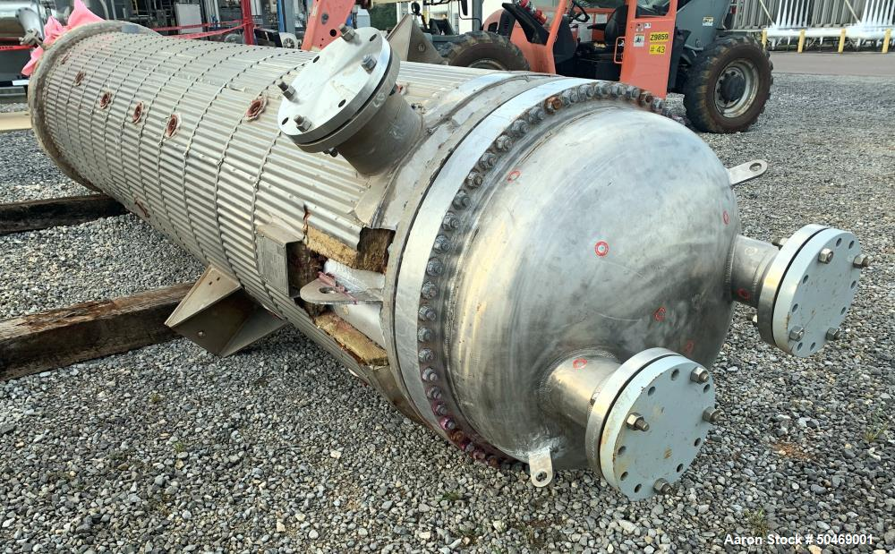 Used- Southern Heat Exchanger 6 Pass Shell and Tube Heat Exchanger