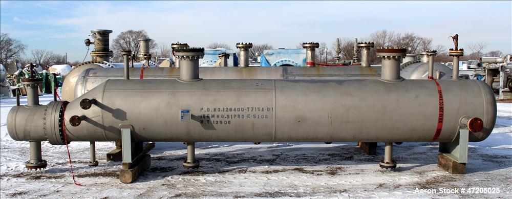 "Unused- Steeltek ""U"" Tube Heat Exchanger"