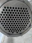 Used- Enerquip Shell & Tube Heat Exchanger, 304L Stainless Steel, Vertical. Approximate 136 square feet. 304L Stainless stee...