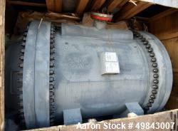 Unused- Tranter GmbH Horizontal Spiral Heat Exchanger, Total Surface Area 194.9 Square Meter (2098 Square Feet), Carbon Stee...