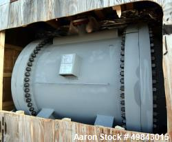 Unused Tranter PS Spiral Heat Exchanger , 2,454 sqft. LP BFW Spiral, Carbon Steel. 1920mm (75.6in) x 2003mm (6-1/2ft), 24.5b...