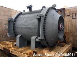Unused- Tranter Spiral Heat Exchanger. Diameter 1920 mm. Length 2003 mm. Max pressure FV/355 psi. Temperature -45/200 C. Act...