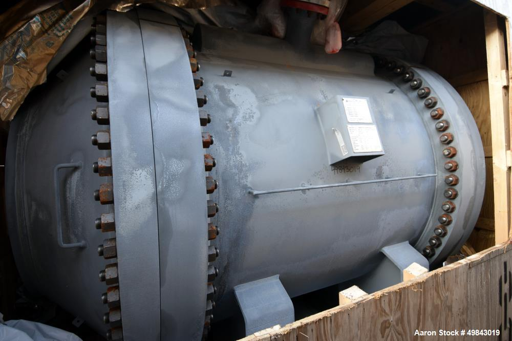 Unused- Tranter GmbH Horizontal Spiral Heat Exchanger, Total Surface Area 239.7 Square Meter (2580 Square Feet), Carbon Stee...