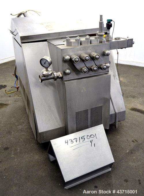 Used- APV Gaulin Homogenizer, Type 1268-MC-18-5-T