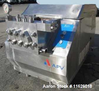 Used- APV Gaulin Homogenizer