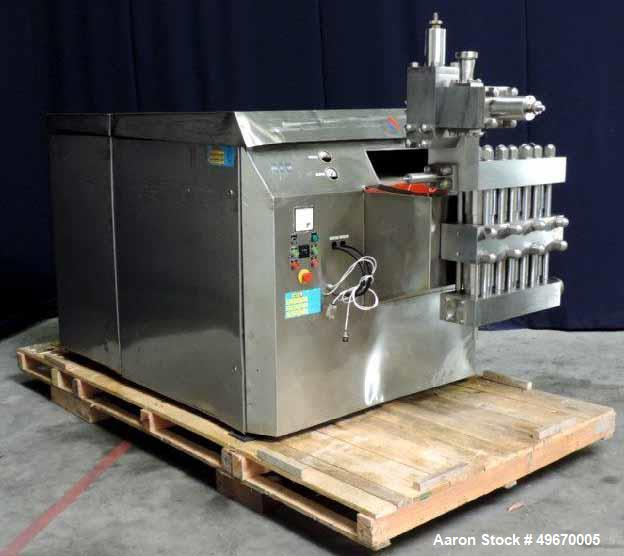 Used- APV Rannie Homogenizer