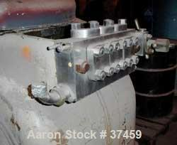 USED: Gaulin two stage industrial homogenizer, model 2000 KF24-3PS. 3000 psi max operating pressure, 850-4000 gallons per ho...