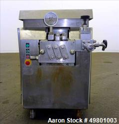 Used- APV Rannie Homogenizer, Type 5-12, 38, 15-7Mo Stainless Steel.