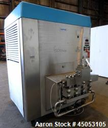 Used- Stainless Steel Rannie Homogenizer, Model 50.120H