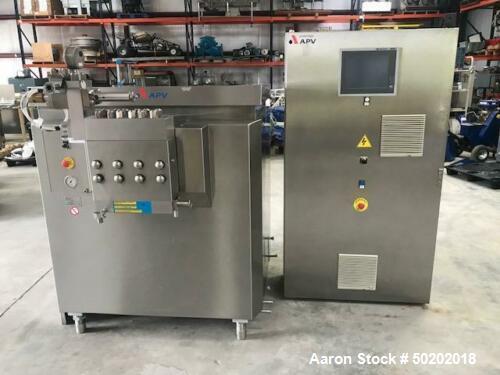 Used- SPX Flow APV Homogenizer with Ranni Head