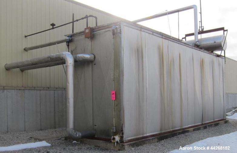 Used- Chester Jensen Ammonia Ice Bank, Model M-10-14-40