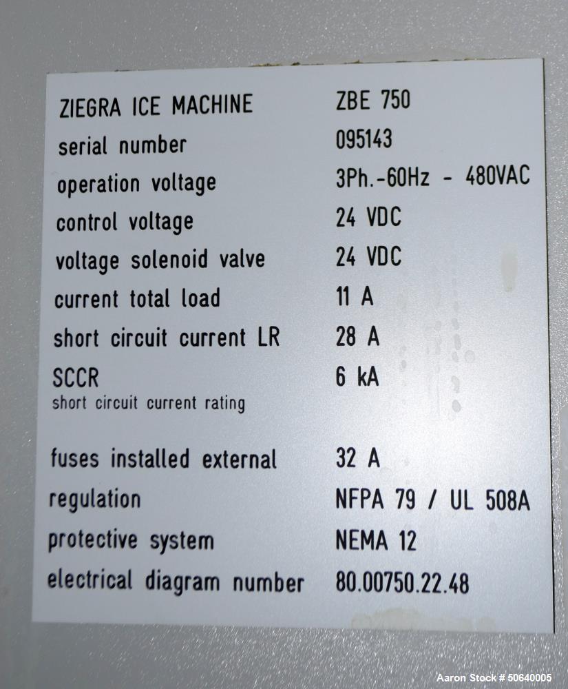 Used- Ice Machine.