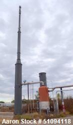 Used- MRW Technologies Combustion Utility Flare Stack System. Includes (1) Utility Flare Stack, (1) thermal oxidizer, (1) Ap...