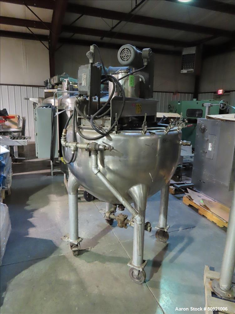 Used- Hamilton Double Motion Kettle, 100 Gallon